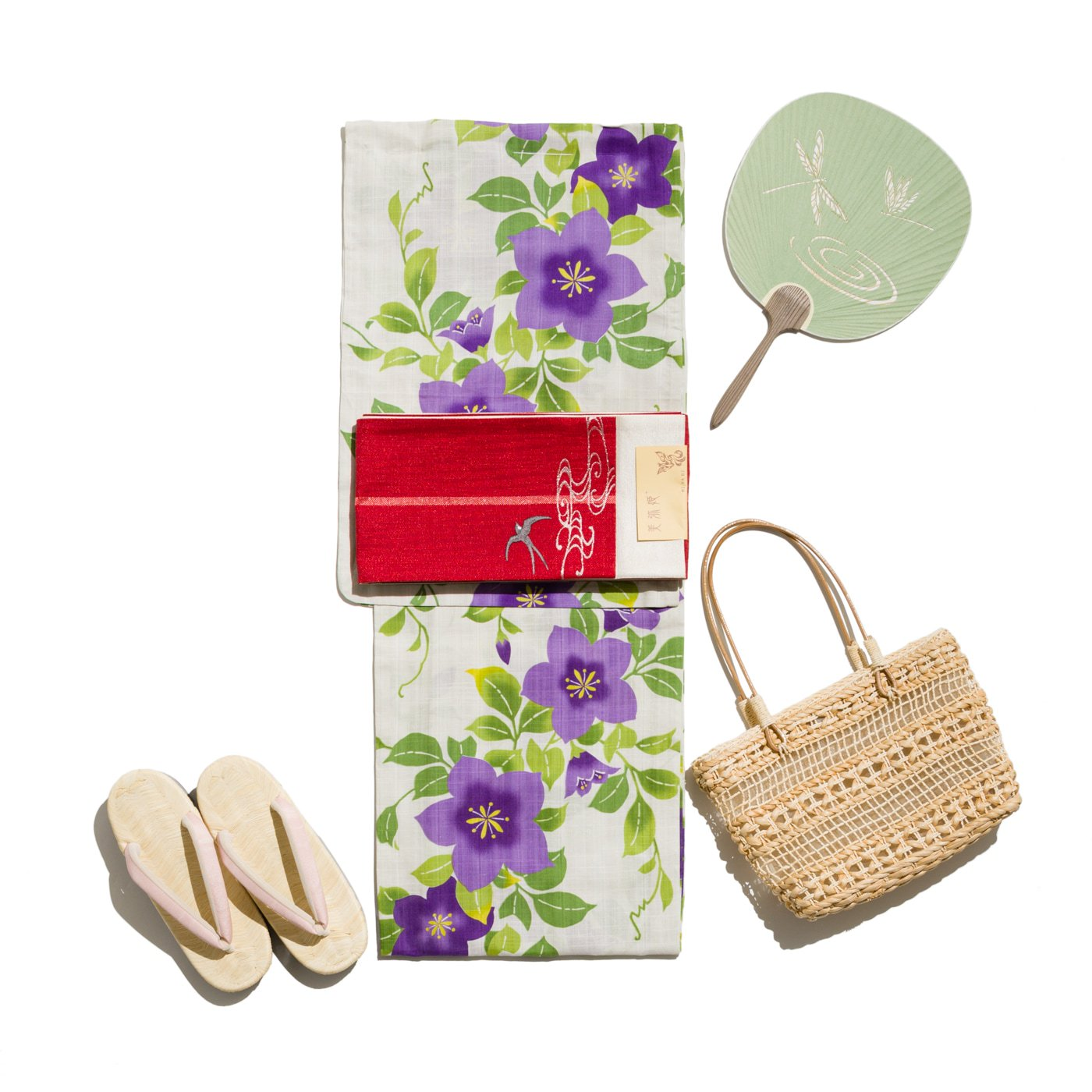 「新品浴衣 桔梗 ViVi」の商品画像