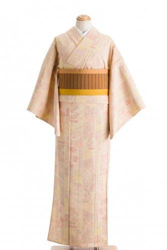 単衣 紬 縞に壺のサムネイル画像