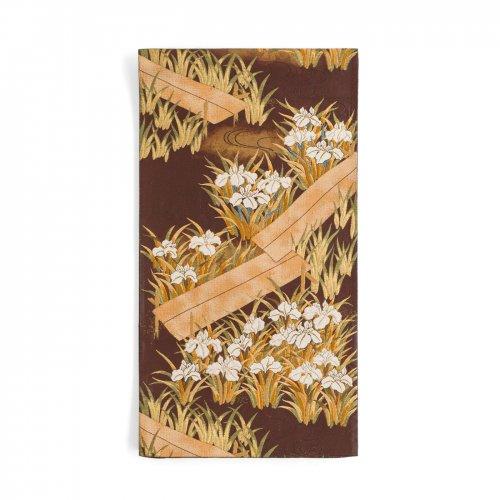 袋帯●杜若と木道のサムネイル画像