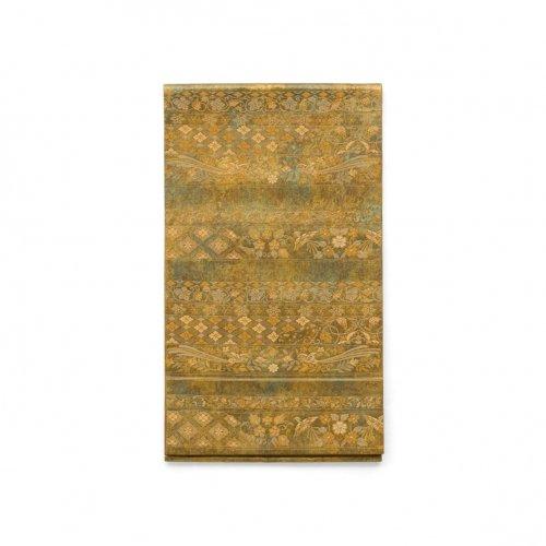 袋帯●横段に花菱 葡萄 鳳凰などのサムネイル画像