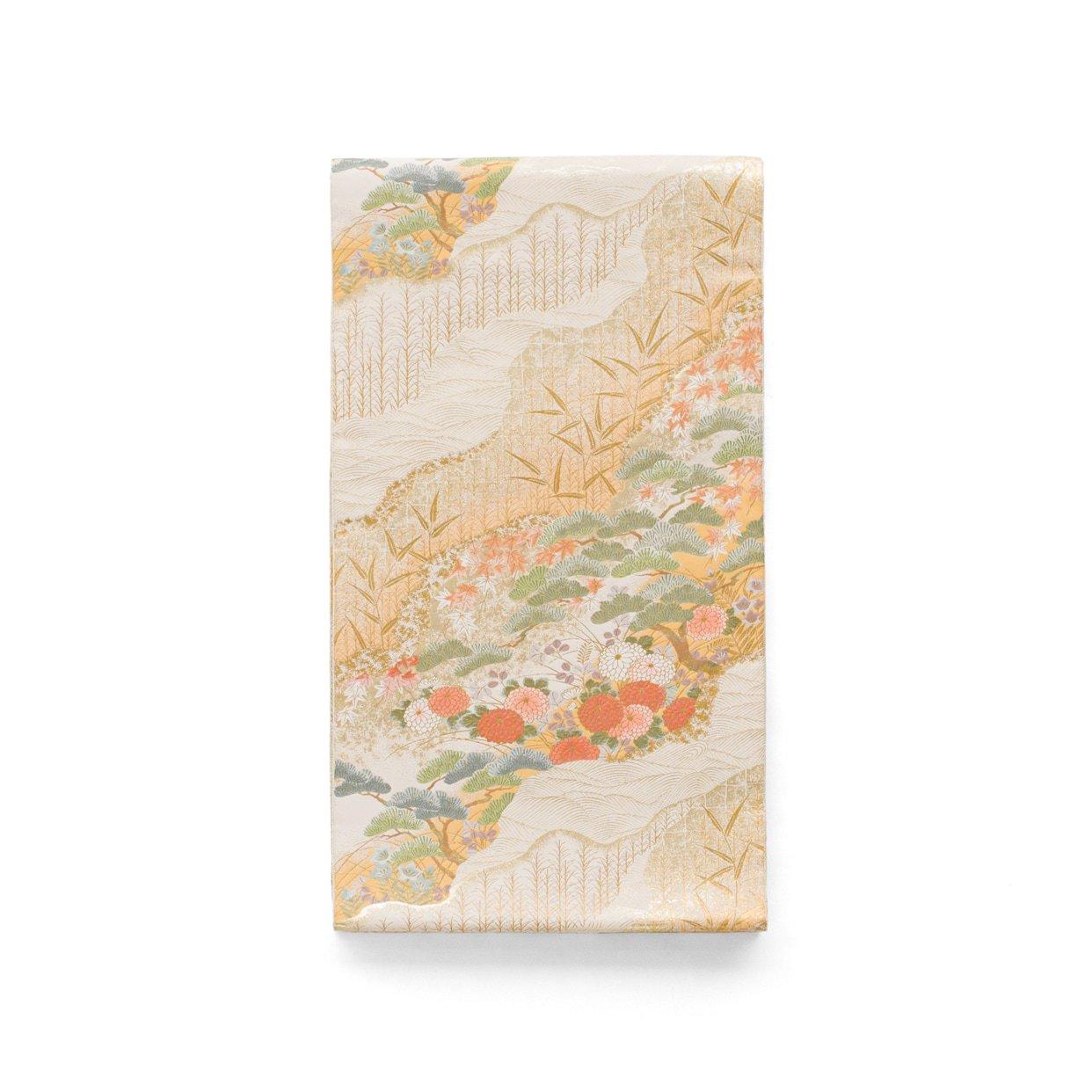 「袋帯●道長取りに松 菊 紅葉など」の商品画像