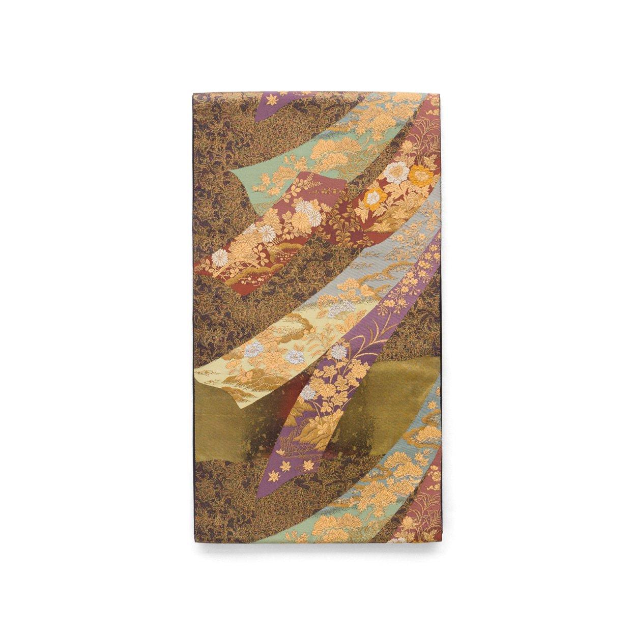 「袋帯●熨斗に花」の商品画像