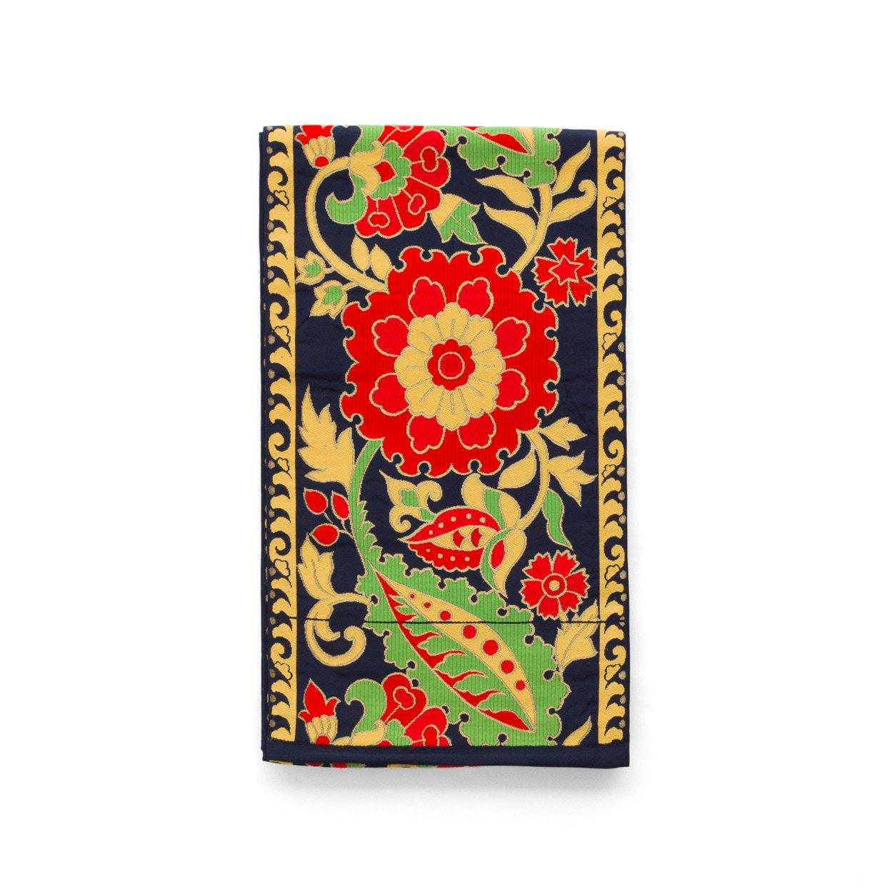 「袋帯●赤い大きな花」の商品画像