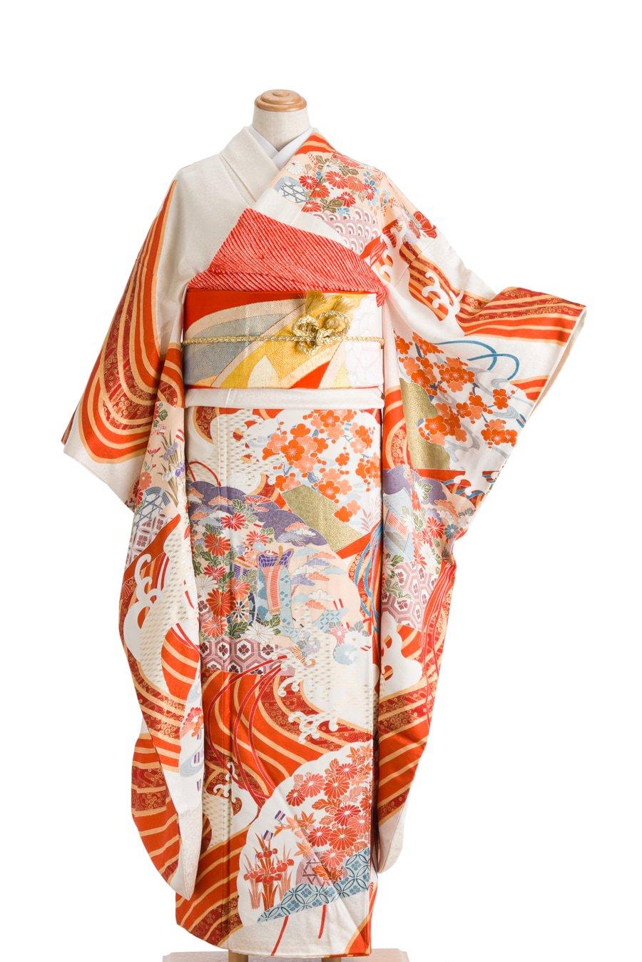 「振袖 花咲く檜扇」の商品画像