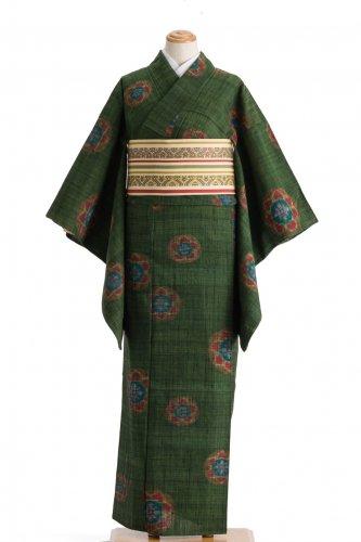 単衣 セミアンティーク 花丸のサムネイル画像