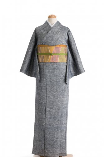 単衣 紬 水面柄のサムネイル画像