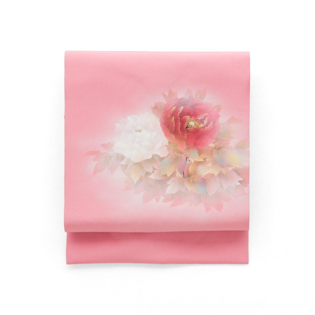 「白と赤の大輪牡丹」の商品画像
