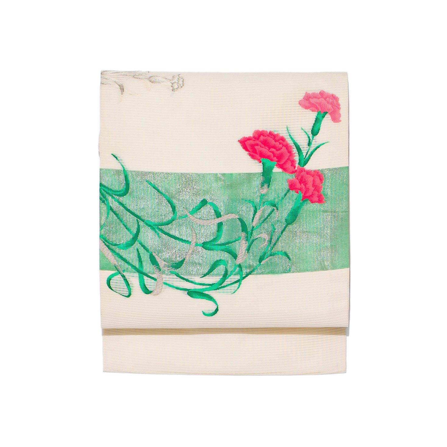 「夏帯 カーネーション」の商品画像