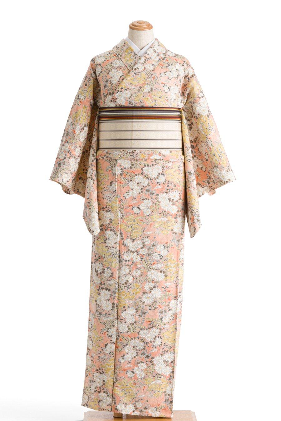 「単衣 白い菊」の商品画像