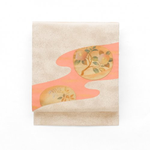 霞に椿と南天のサムネイル画像