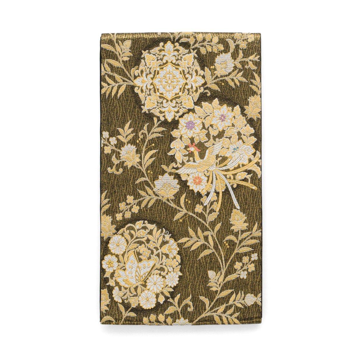 「袋帯●鳳凰と揚羽に花丸」の商品画像