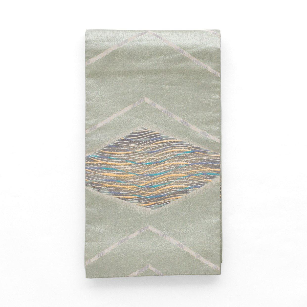 「袋帯●大きな菱と流線」の商品画像