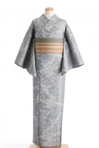 単衣 紬 山水画のサムネイル画像