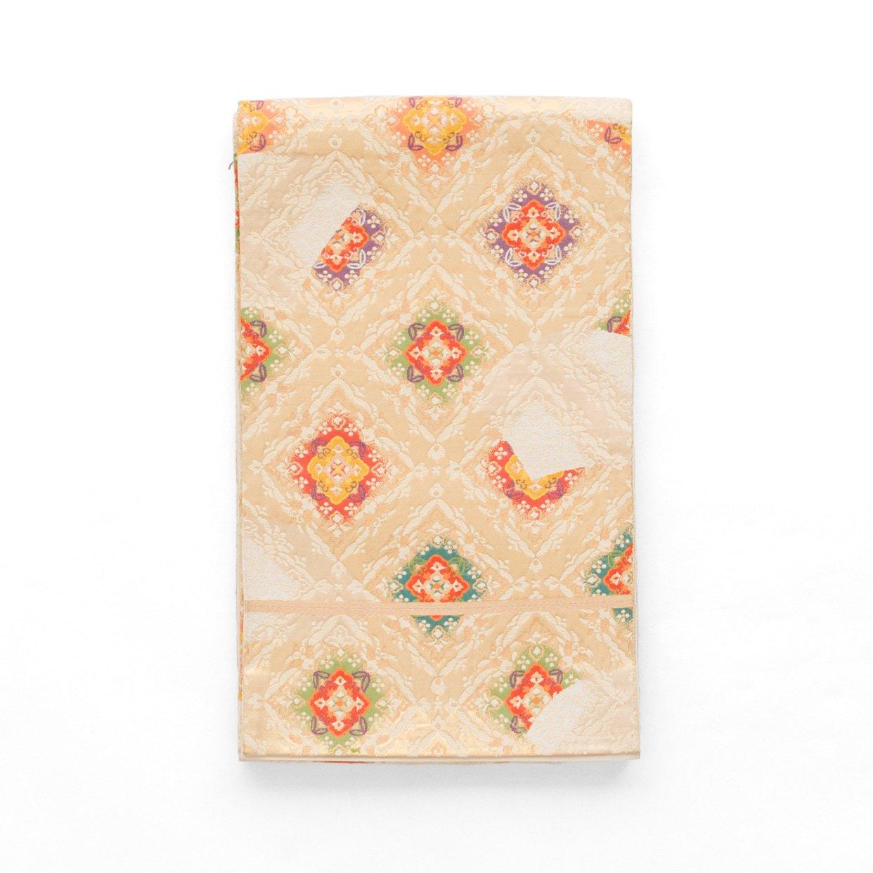 「袋帯●菱に華紋」の商品画像