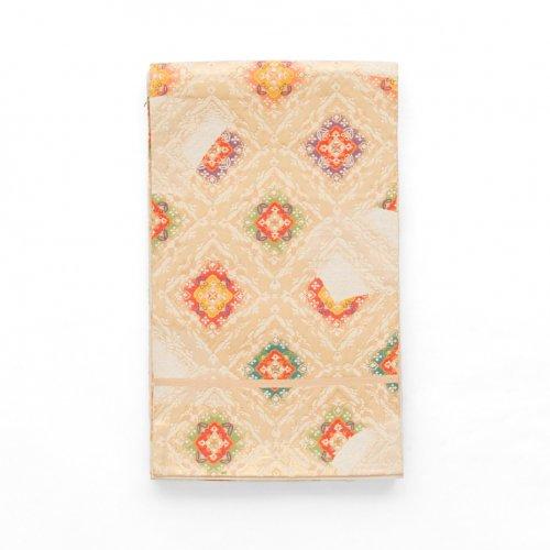 袋帯●菱に華紋のサムネイル画像