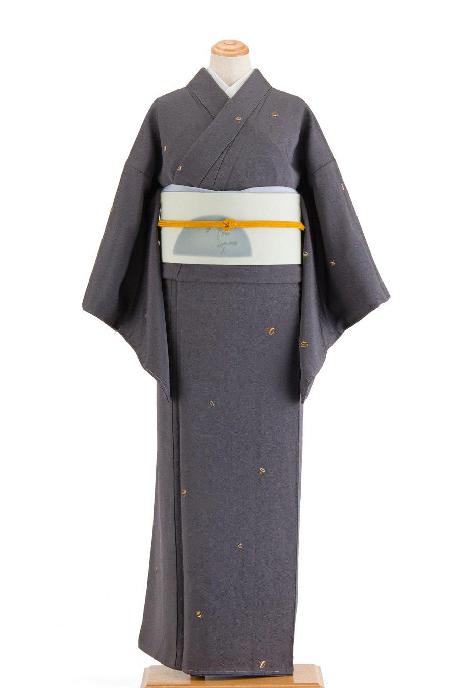「蘇州刺繍 独楽 飛び柄小紋」の商品画像