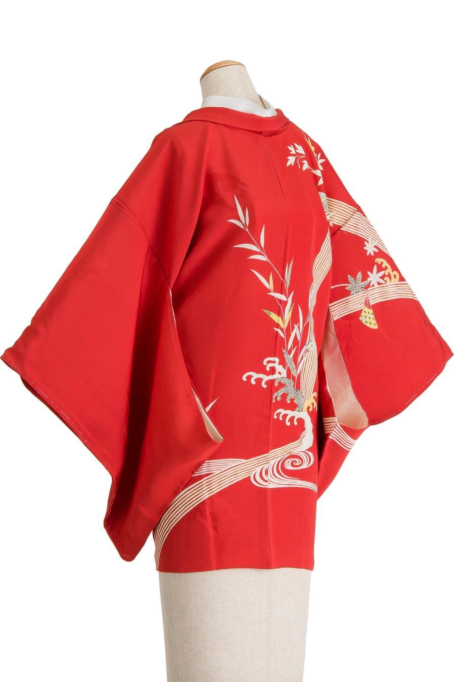 「絵羽織 滝に紅葉」の商品画像