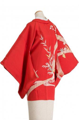 絵羽織 滝に紅葉