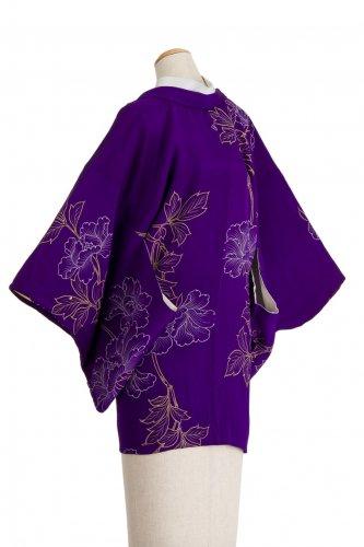 アンティーク着物 繊細な牡丹の花のサムネイル画像
