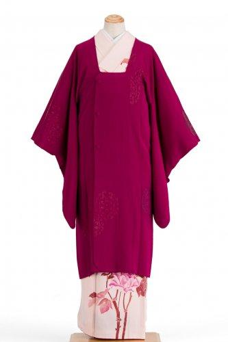 アンティーク着物 ロングコート 華紋のサムネイル画像