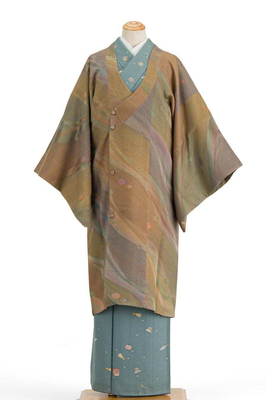 「岩浅公展 変わり織りロングコート 」の商品画像