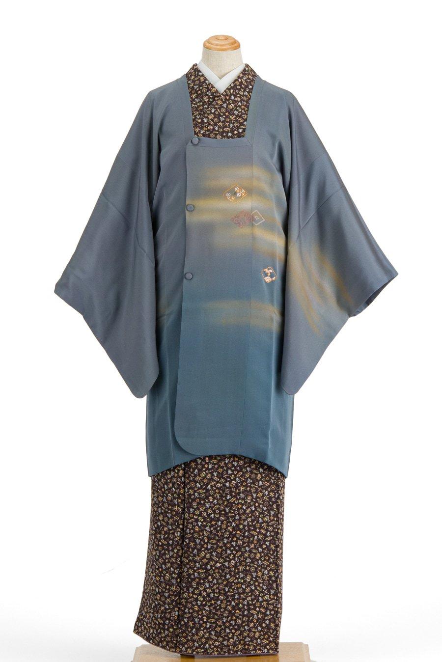 「道行コート 絵羽刺繍 霞に菱」の商品画像