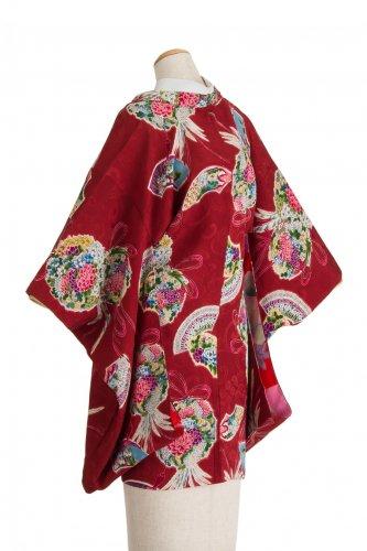 アンティーク着物 羽織 花薬玉のサムネイル画像