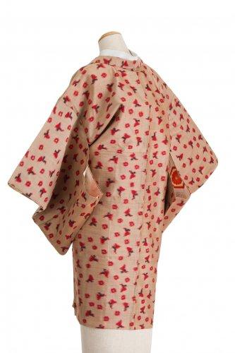 アンティーク着物 銘仙 蝶々と丸のサムネイル画像