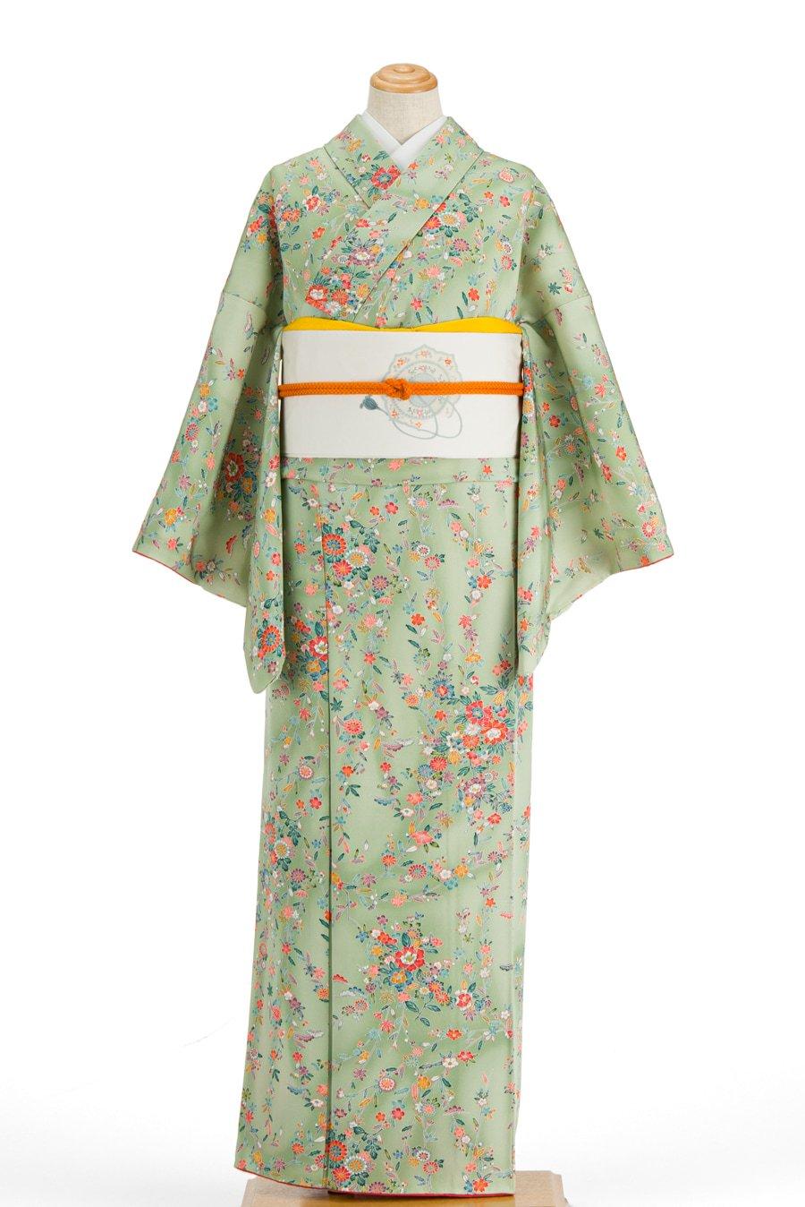 「緑暈しに牡丹 菊 梅など」の商品画像