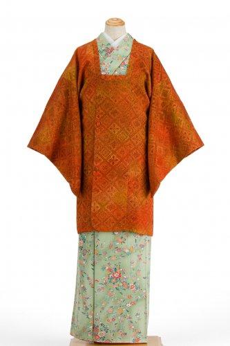 道行コート 膨れ織りの菱模様のサムネイル画像