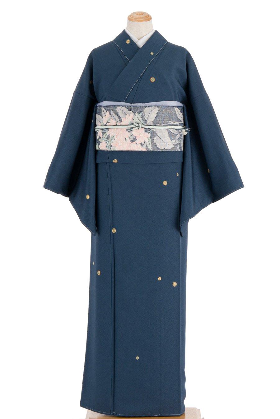「紺青地に 的刺繍」の商品画像