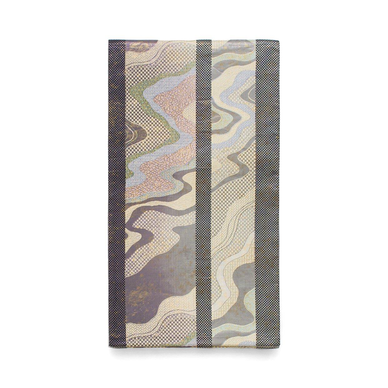 「袋帯●縞に霞」の商品画像