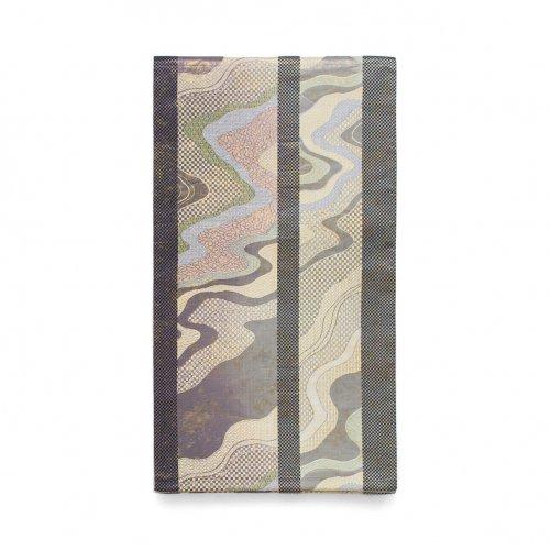 袋帯●縞に霞のサムネイル画像