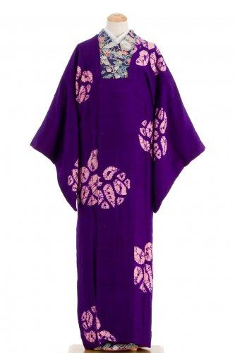 アンティーク着物 ロングコート 絞りの葵のサムネイル画像
