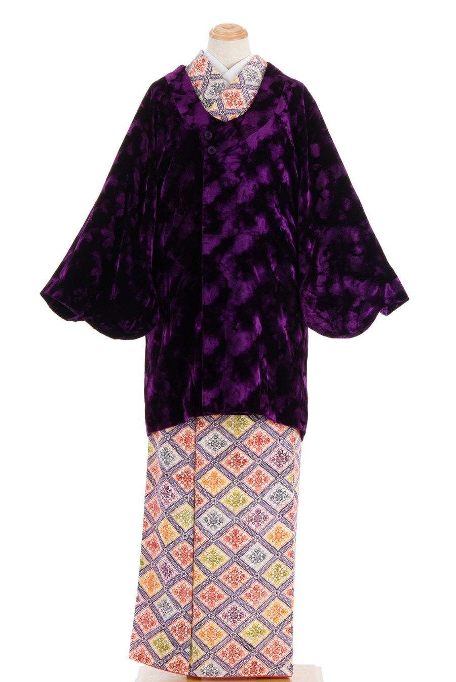 「ベルベットコート agehara 紫」の商品画像