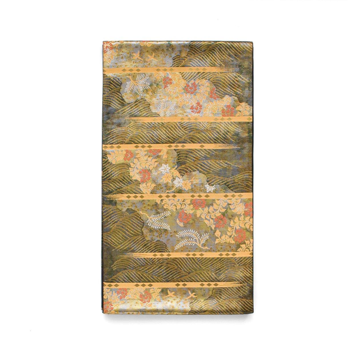 「袋帯●道長取りに金の波」の商品画像