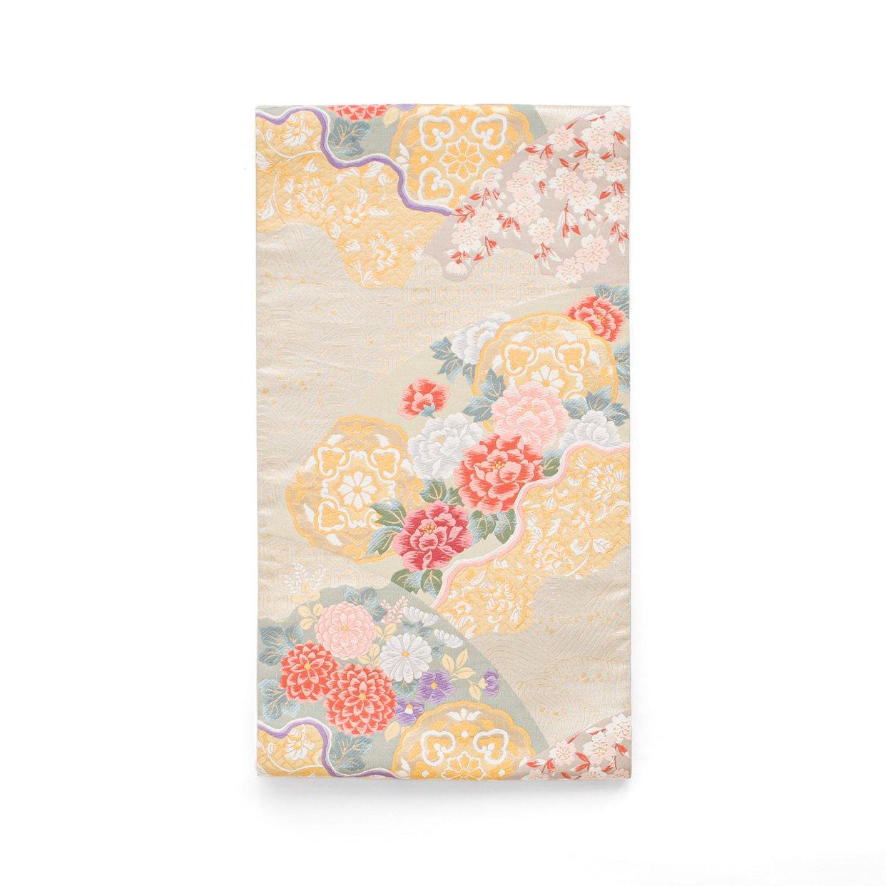 「袋帯●牡丹 菊 桜など」の商品画像