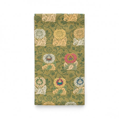 袋帯●並んだ花のサムネイル画像