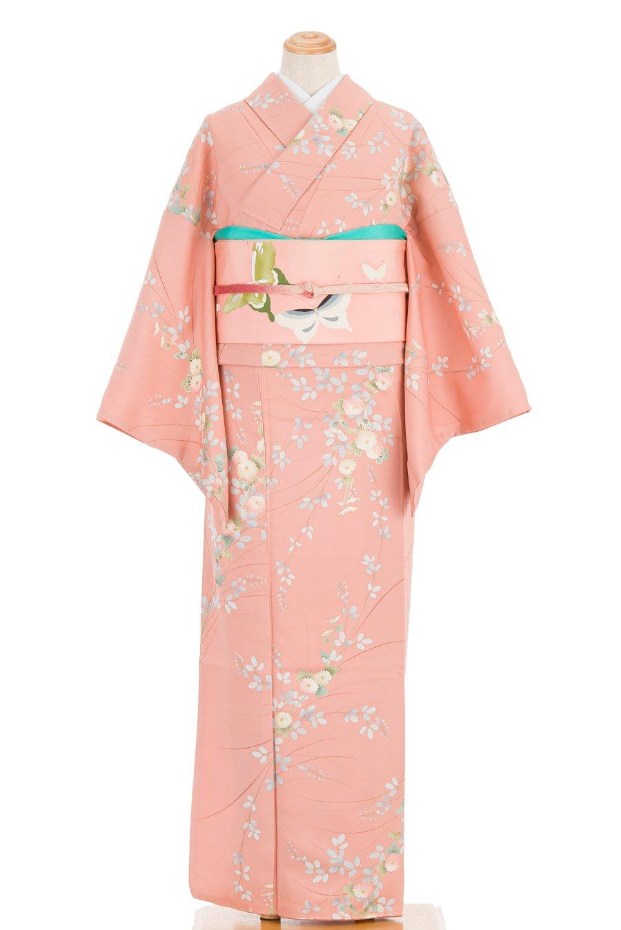 「ピンク色の地に小菊」の商品画像