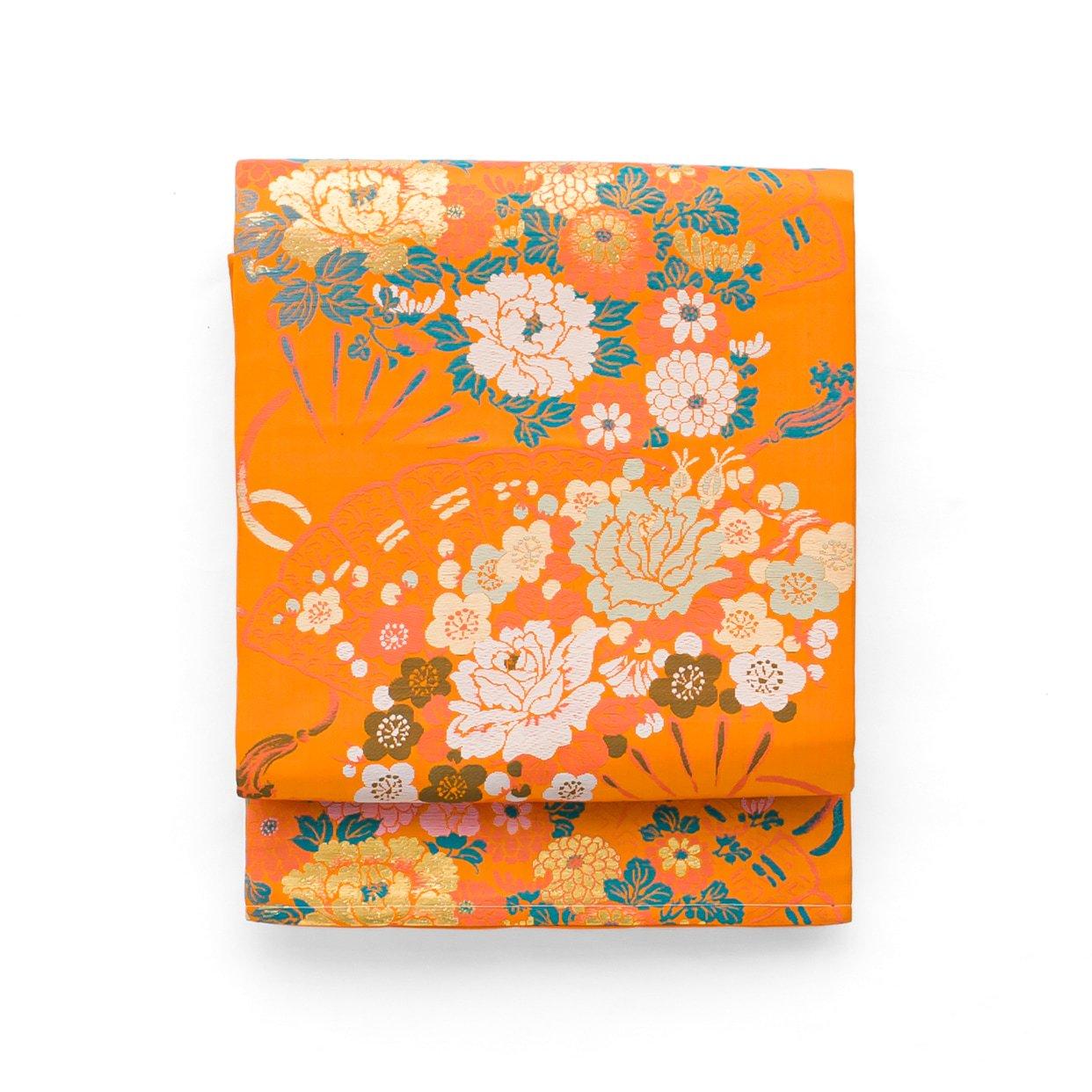 「アンティーク着物 檜扇に薔薇や牡丹」の商品画像