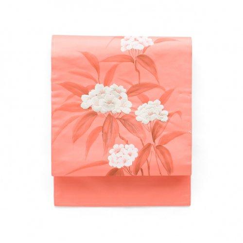 ピンク地に白花刺繍のサムネイル画像