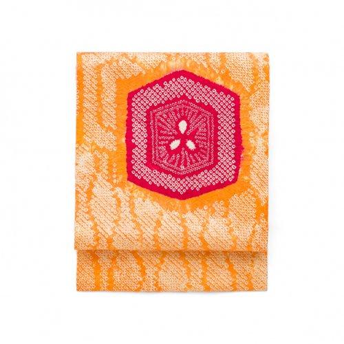 総絞り 赤い亀甲のサムネイル画像