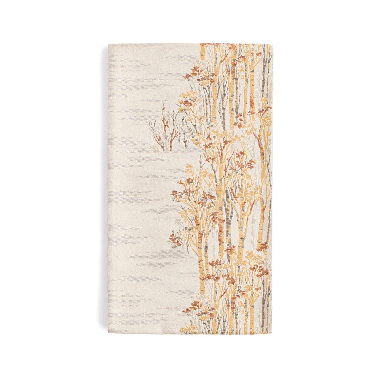 「袋帯●白銀の並木道」の商品画像