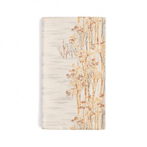 袋帯●白銀の並木道のサムネイル画像