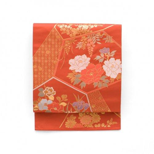 赤茶地 牡丹 藤 菖蒲 椿などのサムネイル画像