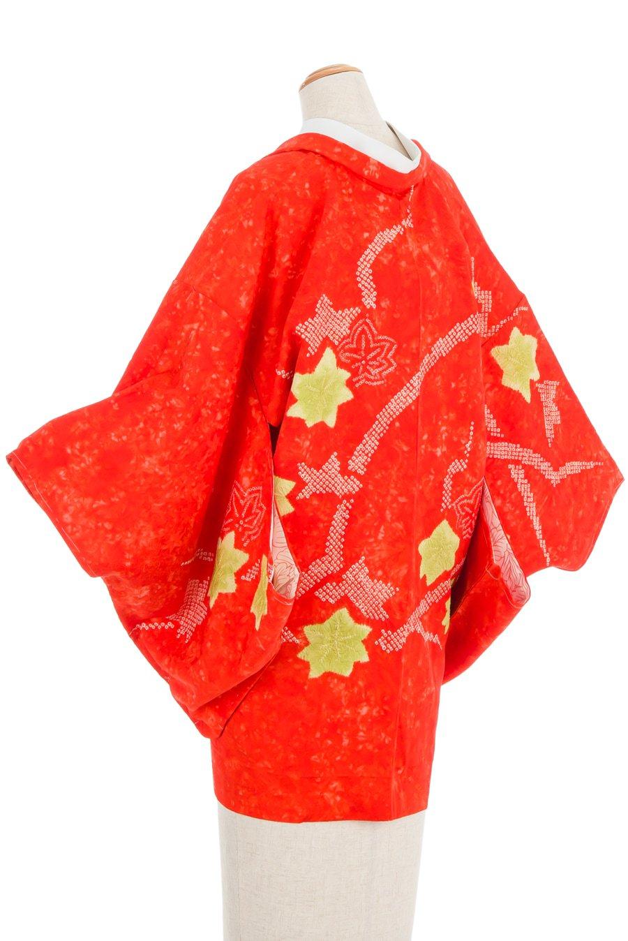 「絞り絵羽織 紅葉」の商品画像