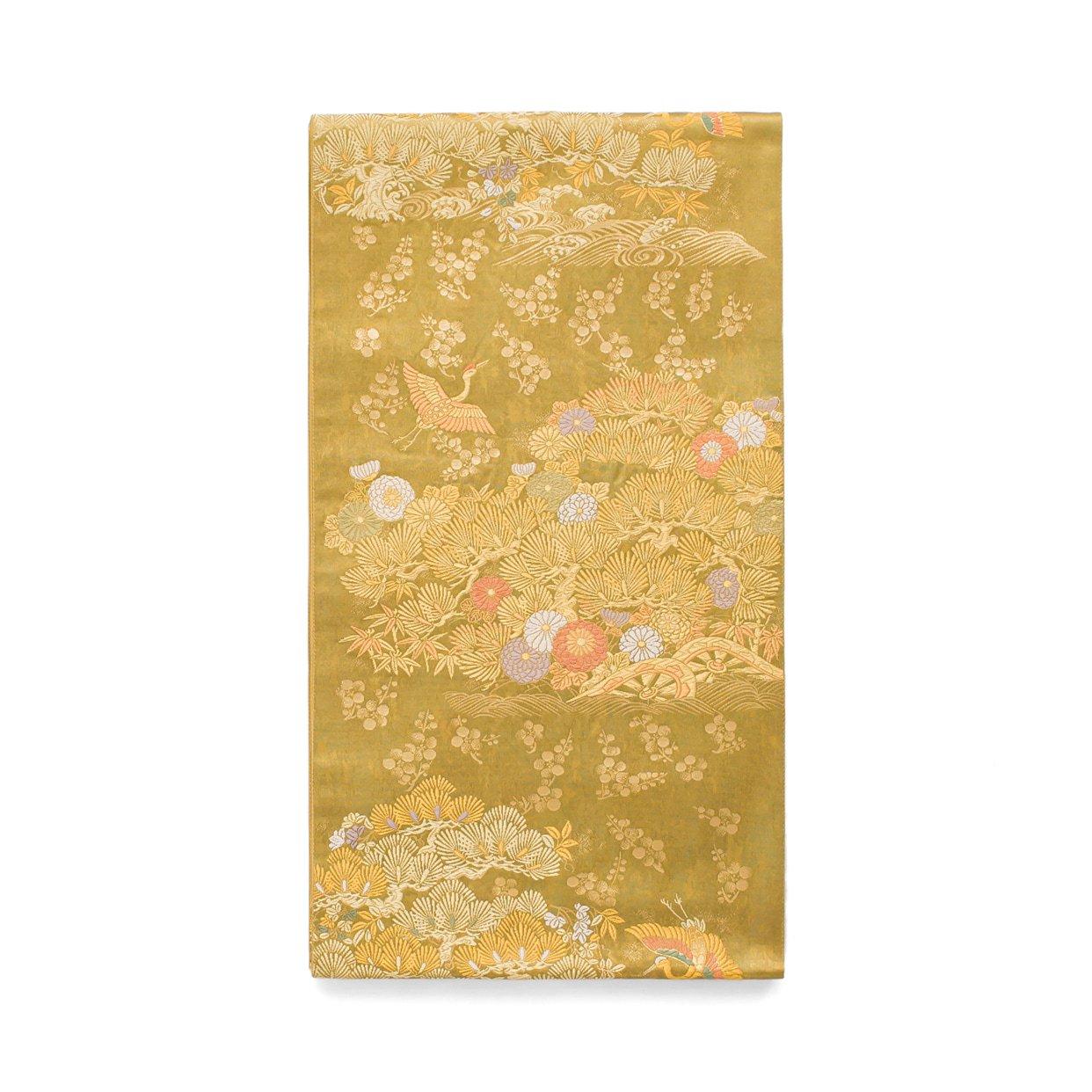 「袋帯●松に鶴など」の商品画像