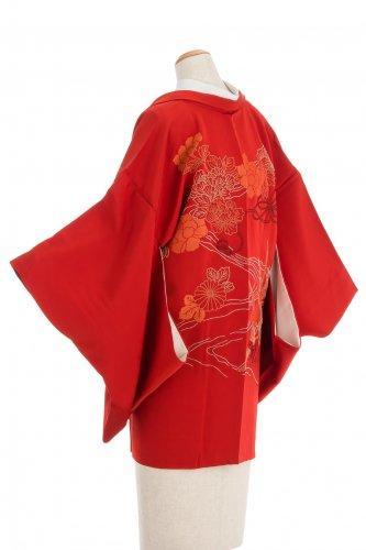 絵羽織 流水に牡丹 菊 菖蒲 刺繍のサムネイル画像
