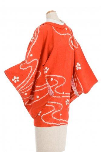 絵羽織  絞り染め 水と花のサムネイル画像
