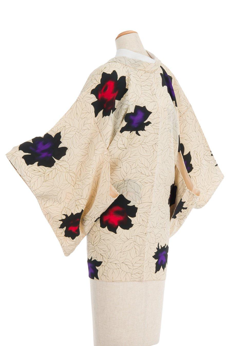 「アンティーク着物 黒薔薇」の商品画像